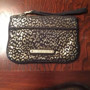 Black and Gold Express Wristlet